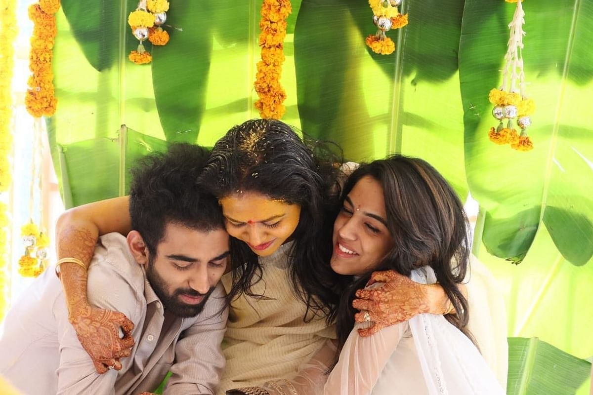 In Pics: Telugu singer Sunitha, 42, ties the knot for the second time with close friend Ram