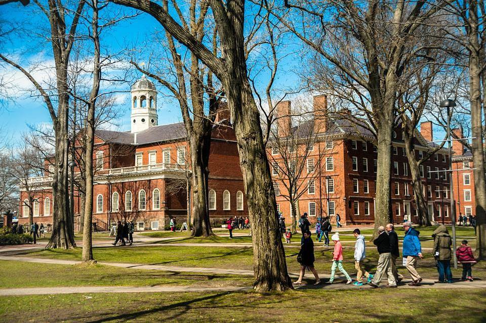 Harvard University tops list of Ivy League schools in new US college rankings