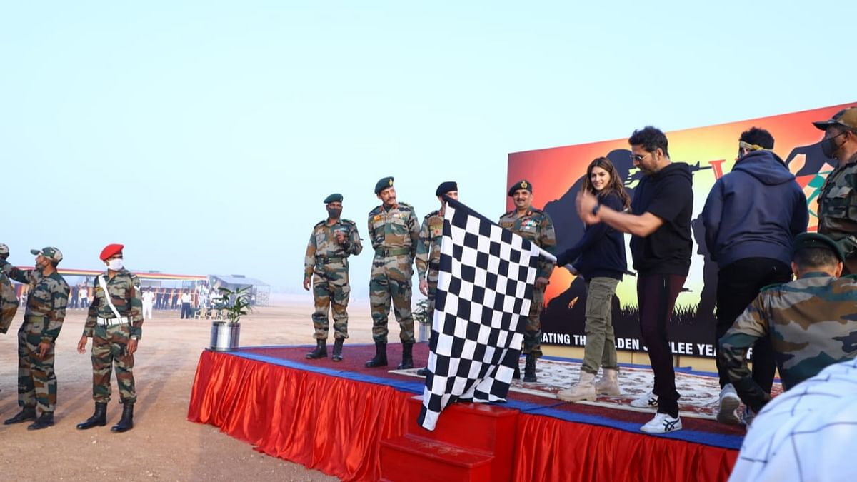 Rajasthan: Konark Corps organises 'Vijay Run' marathon on Army Day