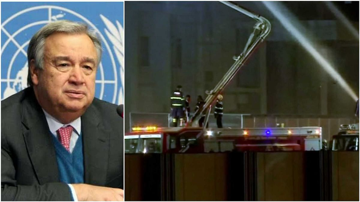 Secretary-General Antonio Guterres  saddened by loss of life in fire at Serum Institute of India: UN