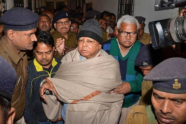 #Release_Lalu_Yadav trends as former Bihar CM brought to AIIMS Delhi for further treatment