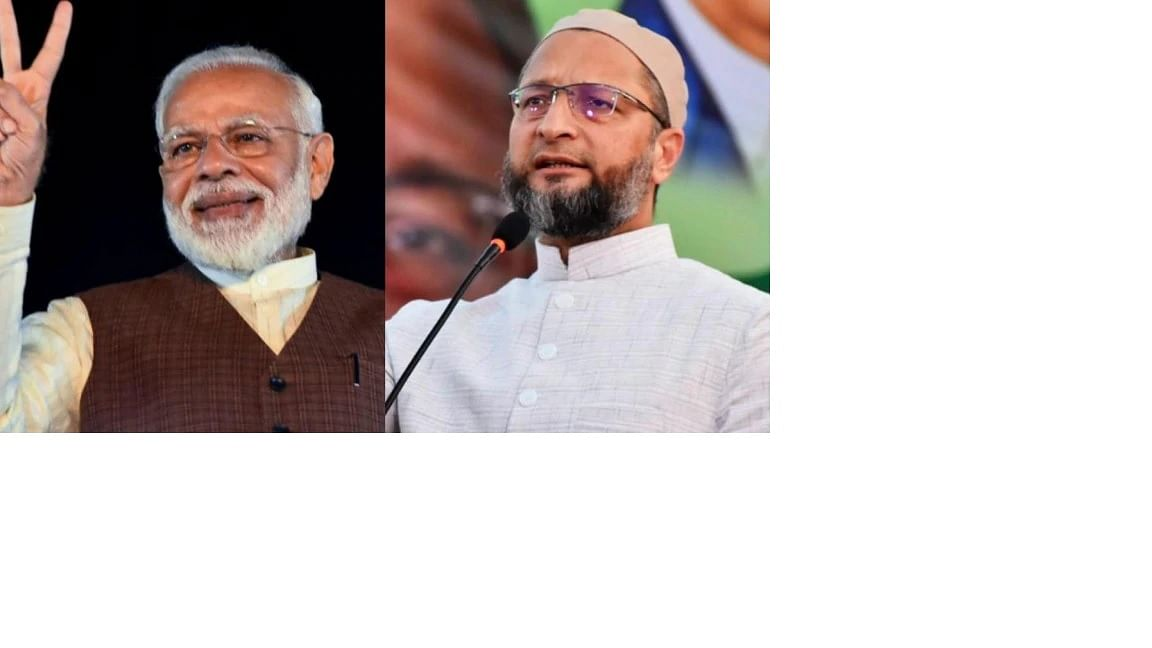 Though the BJP and AIMIM are ideologically apart, they share a few similarities, says A L I Chougule