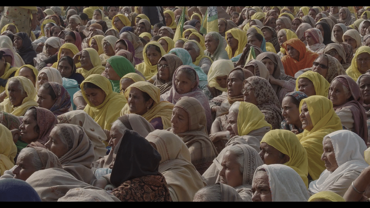Capturing farmers' protest through the lens of cinema