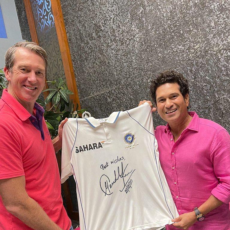 Sachin Tendulkar lends support to McGrath's 'Pink Test' initiative
