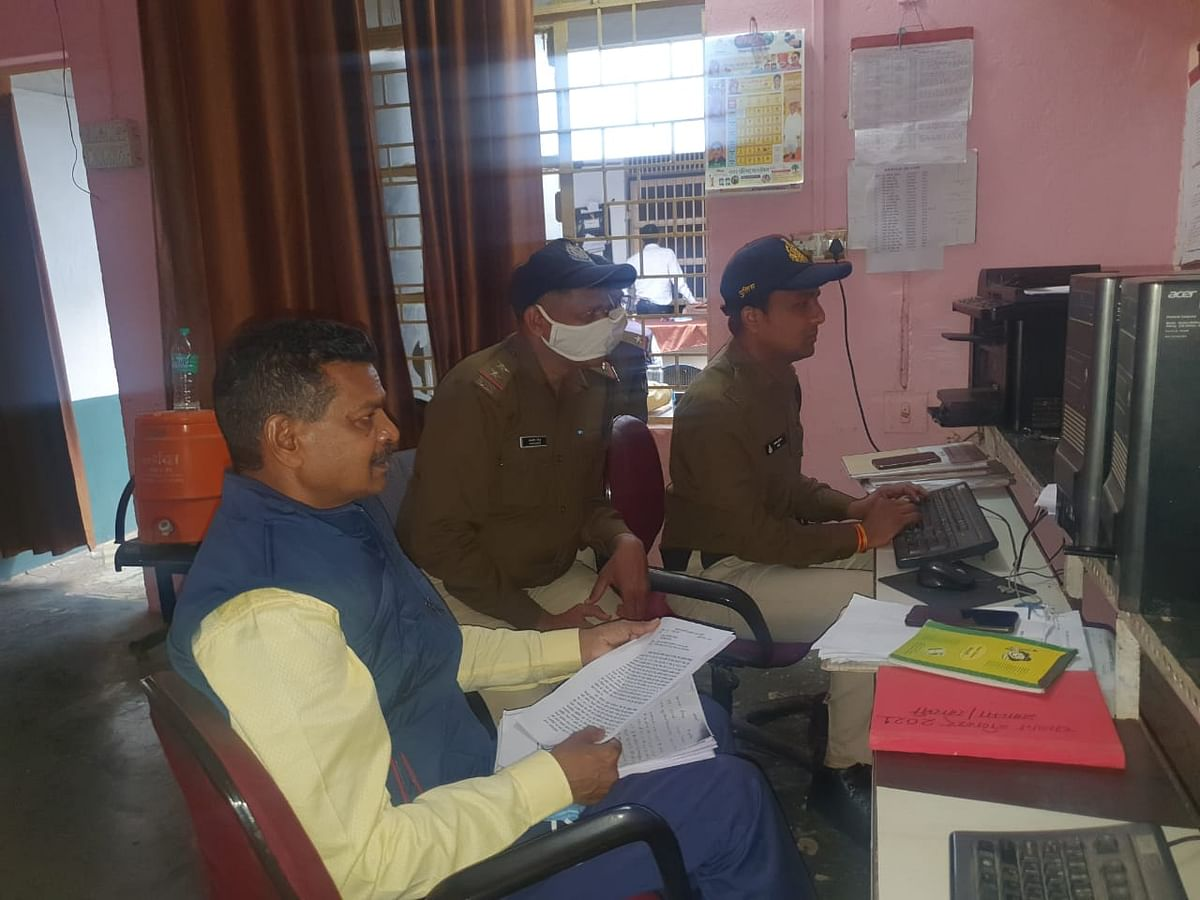 Barwani police station