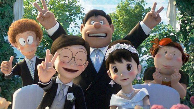 Twitterati get emotional as Nobita finally marries Shizuka in 'Stand by Me Doraemon 2'