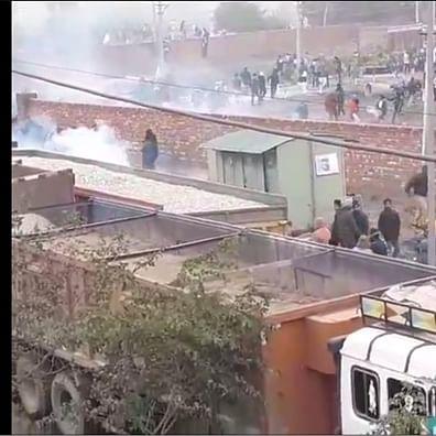 Haryana Police use water cannon, teargas shells to stop protesters ahead of Khattar's 'kisan mahapanchayat'