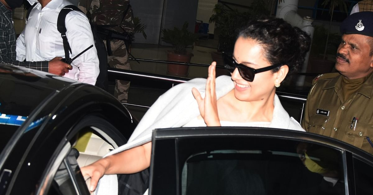 Kangana in Bhopal for high-octane 'Dhakaad' shoot