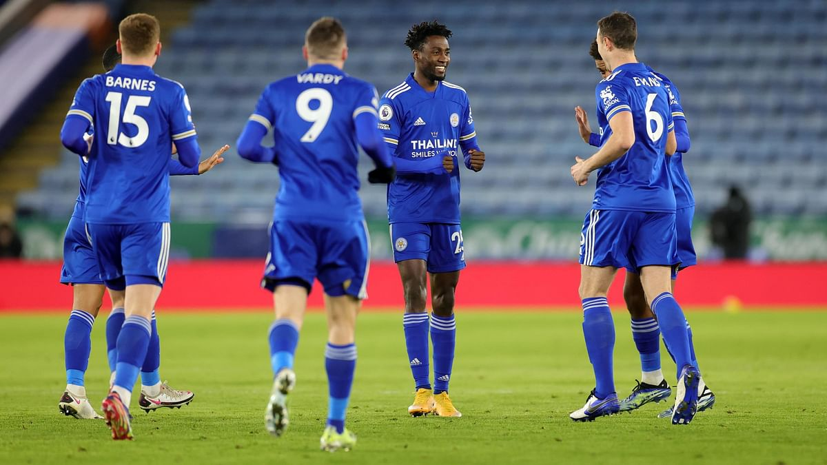 Premier League: Leicester City go top of points table with 2-0 victory over Chelsea