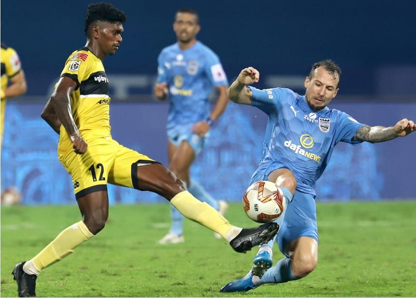 ISL Match Report: Hyderabad mighty Mumbai