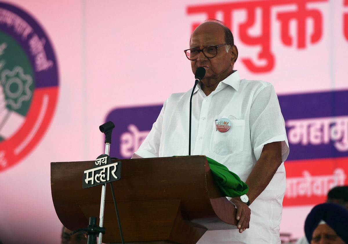 Governor has time for Kangana, not farmers: Sharad Pawar