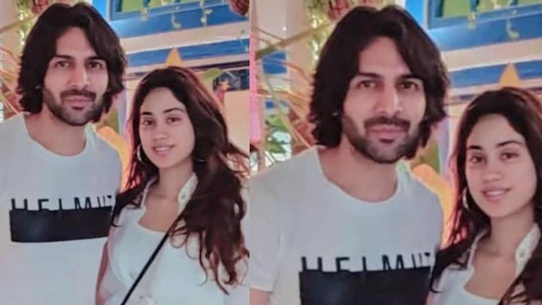 After rumoured couple Ishaan Khatter, Ananya Panday's Maldives baecation, Kartik Aaryan, Janhvi Kapoor holiday in Goa
