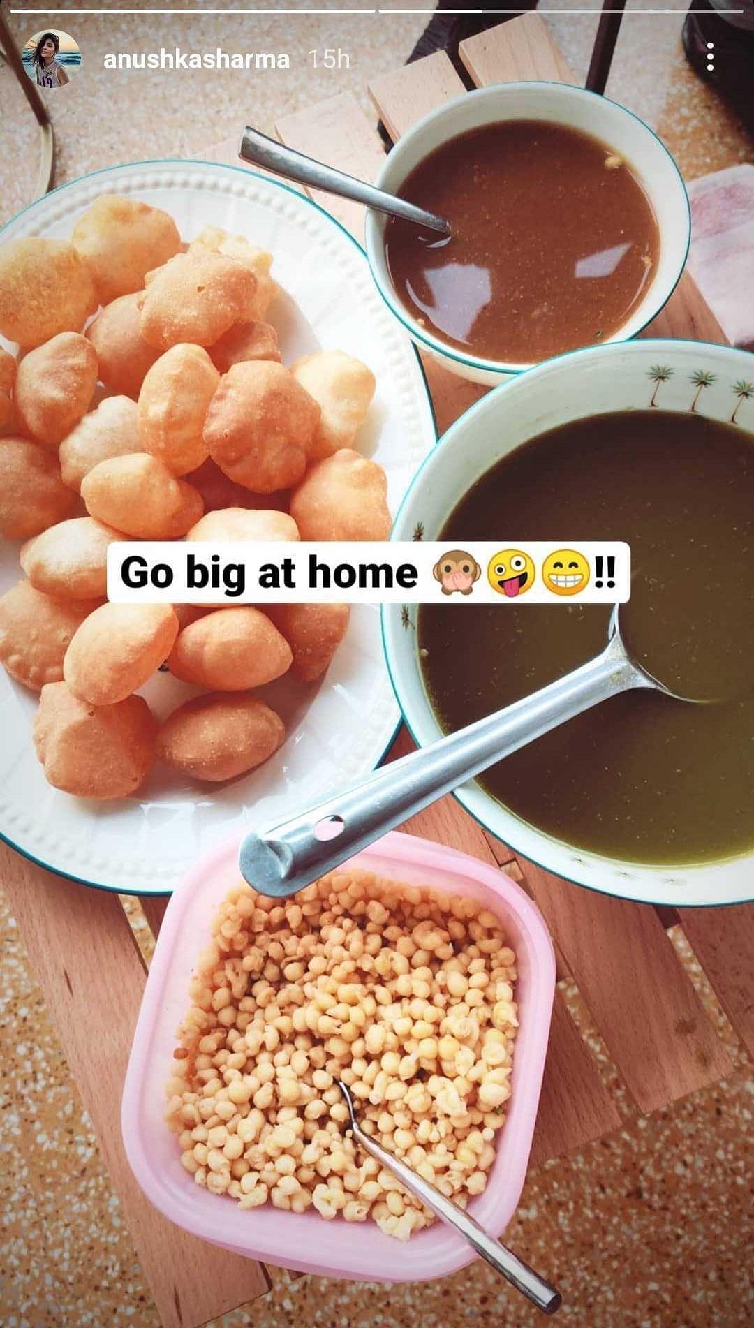 Mom-to-be Anushka Sharma indulges in 'Pani Puri' cravings ahead of her due date