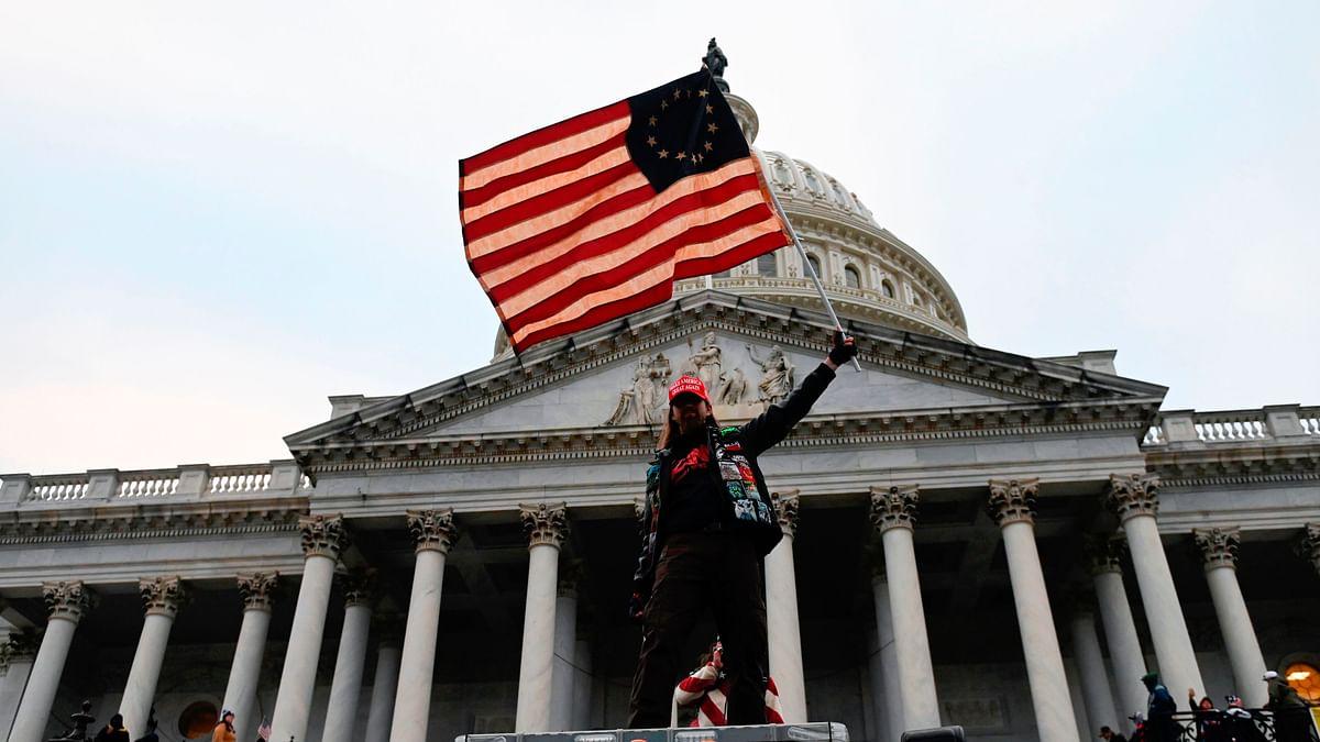 How did the pro-Trump mob waltz into US Capitol building?