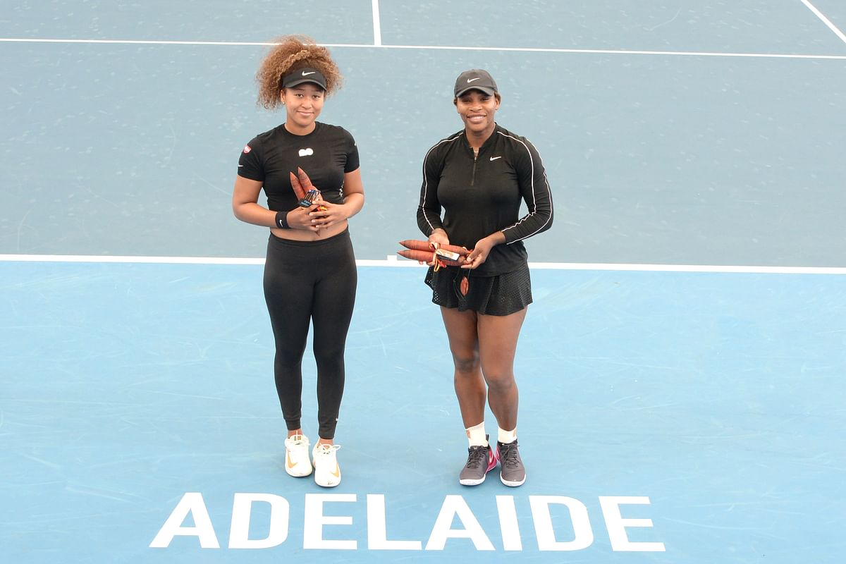 Australian Open: Osaka, Serena, Djokovic and other players finally on court in Adelaide