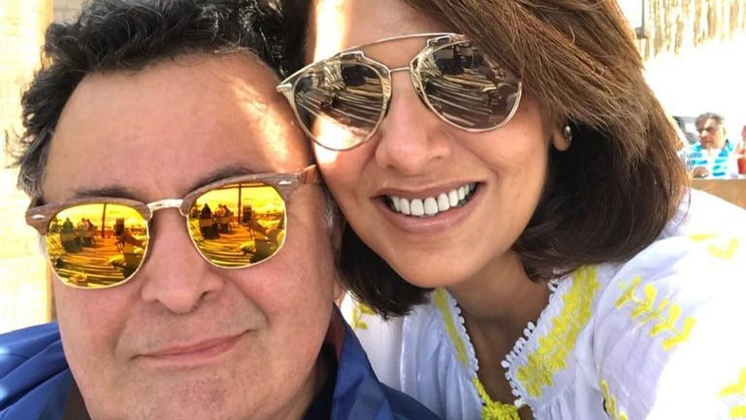 Neetu Kapoor remembers Rishi Kapoor on their wedding anniversary with a special video