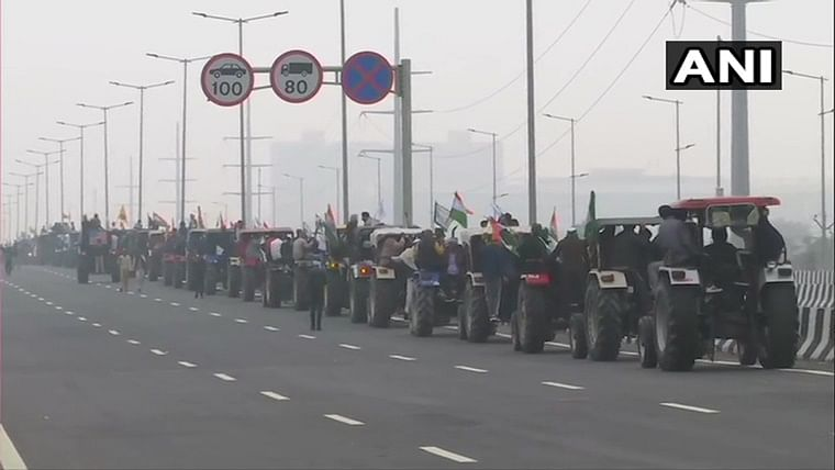 Farmers' protest: Tractor rally at Delhi borders today, diversion on Eastern Peripheral Expressway