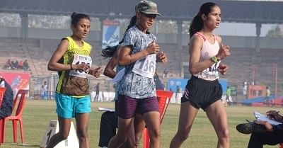 Second day of the National Federation Cup Junior Under-20 Athletics Championships in Bhopal on Tuesday