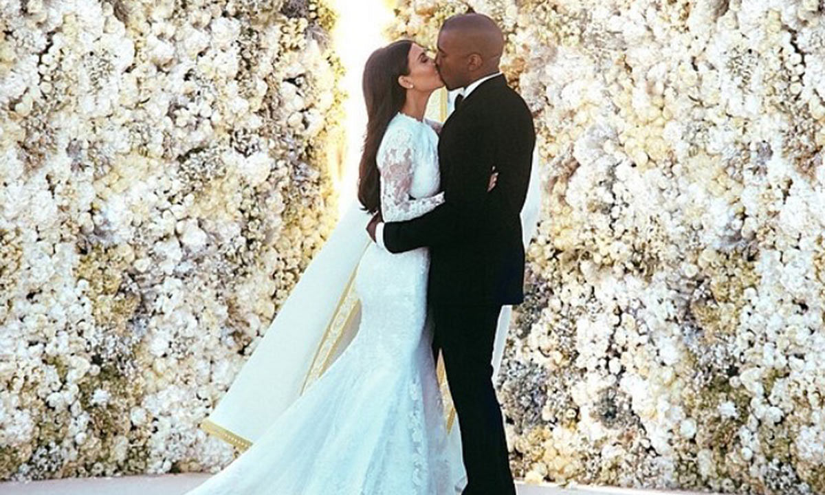 From dreamy proposal to fairytale wedding - A timeline of Kim Kardashian and Kanye West's love story