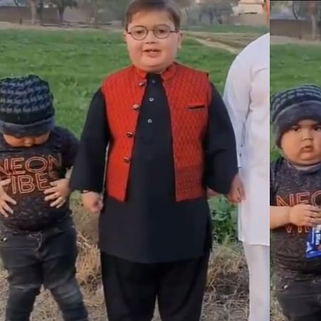 Richa Chadha can't stop gushing over 'Peeche dekho kid' Ahmad Shah's younger brother; check out viral video