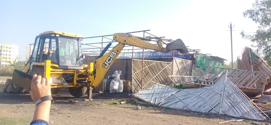 Land mafia Suneel Yadav's properties worth over Rs 1.5 cr bulldozed in Bhopal