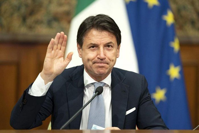 Italy's Prime Minister Giuseppe Conte resigns over coronavirus criticism, seeks nod to form new coalition