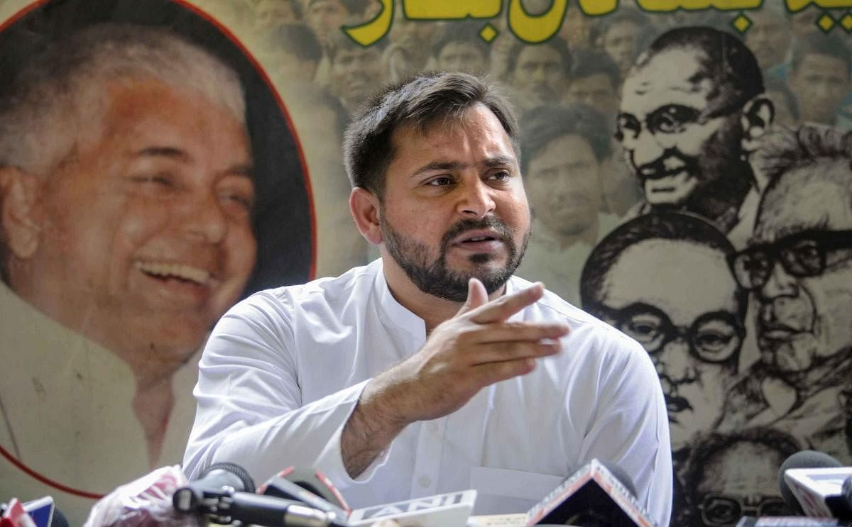 Tejashwi to meet Jharkhand CM as Lalu Yadav's health condition becomes serious