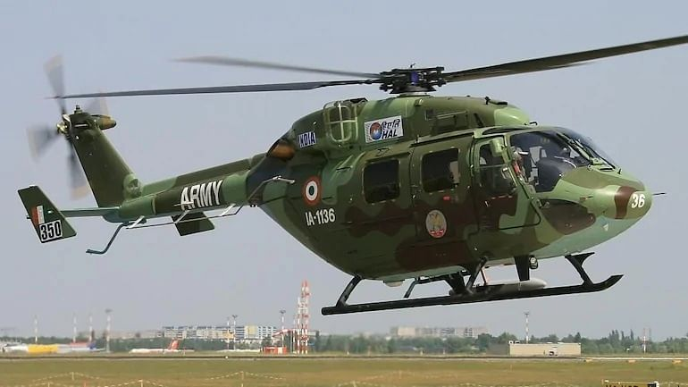 J&K Indian Army chopper crash: 1 pilot dead, another critical