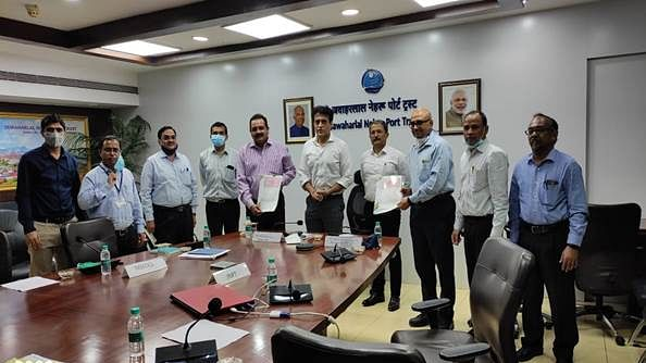 JNPT becomes first major port to sign distribution franchisee agreement with MSEDCL