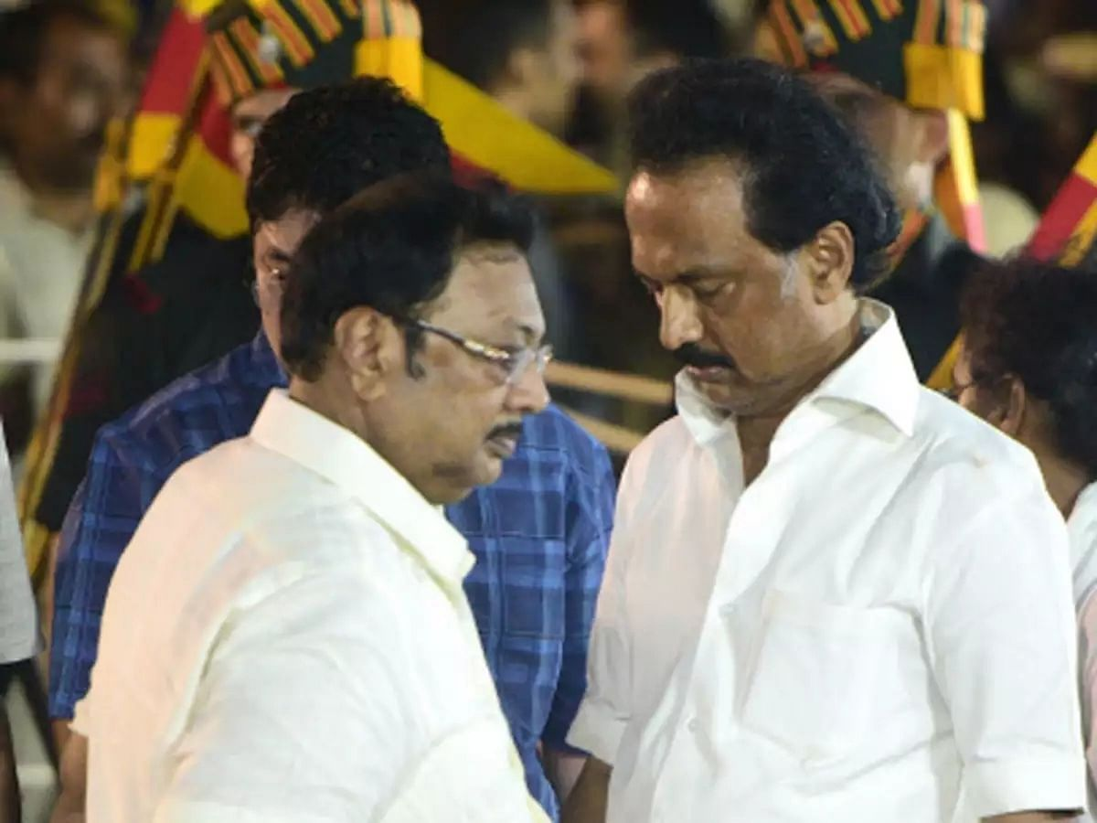 Stalin will never become CM, says elder brother Alagiri