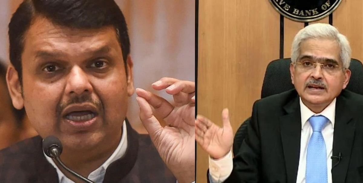 Devendra Fadnavis meets RBI Guv Shaktikanta Das, requests easing of norms for funding by SCB/DCCBs under self-redevelopment scheme