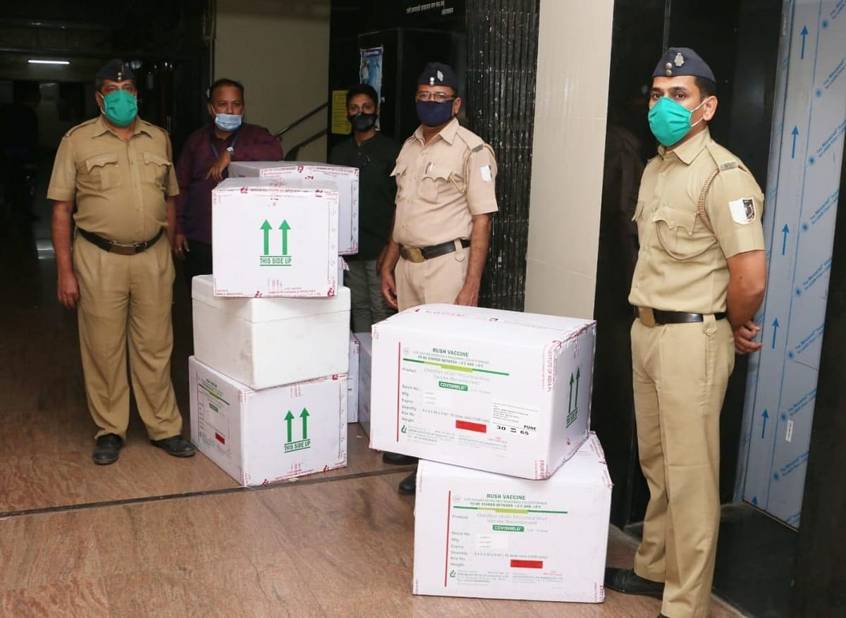 COVID-19 vaccine update: First consignment of over 1.39 lakh Covishield doses arrives in Mumbai