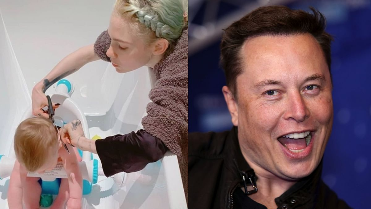 Only Elon Musk's son X Æ A-Xii can pull off this 'Viking-inspired' haircut given by mother Grimes