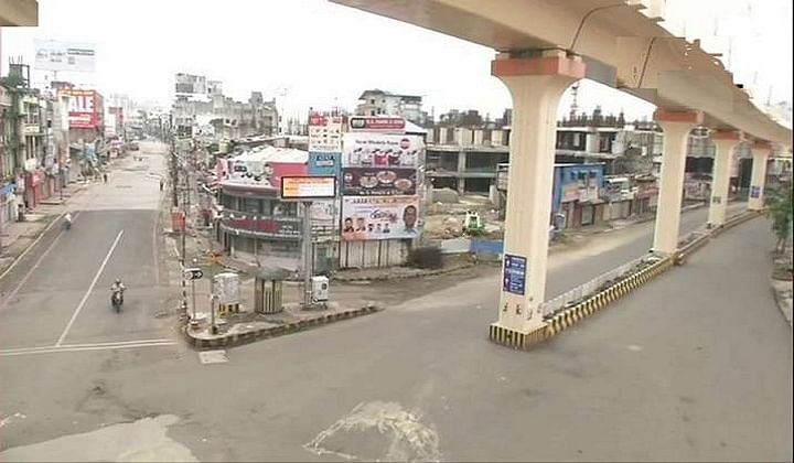 Curfew in parts of Bhopal; aim was to help RSS, alleges Congress