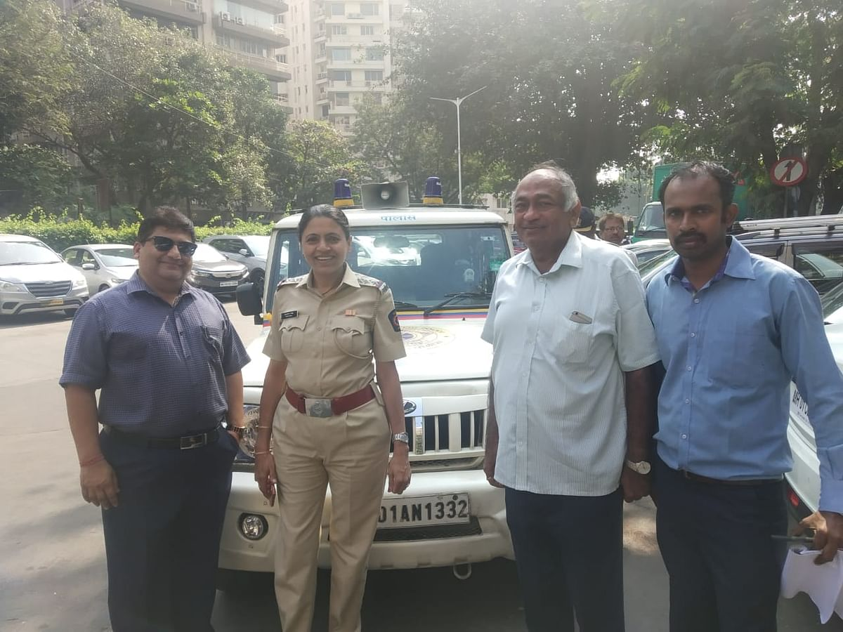 Nariman Point Association reaches out to traffic police in order to curb traffic menace