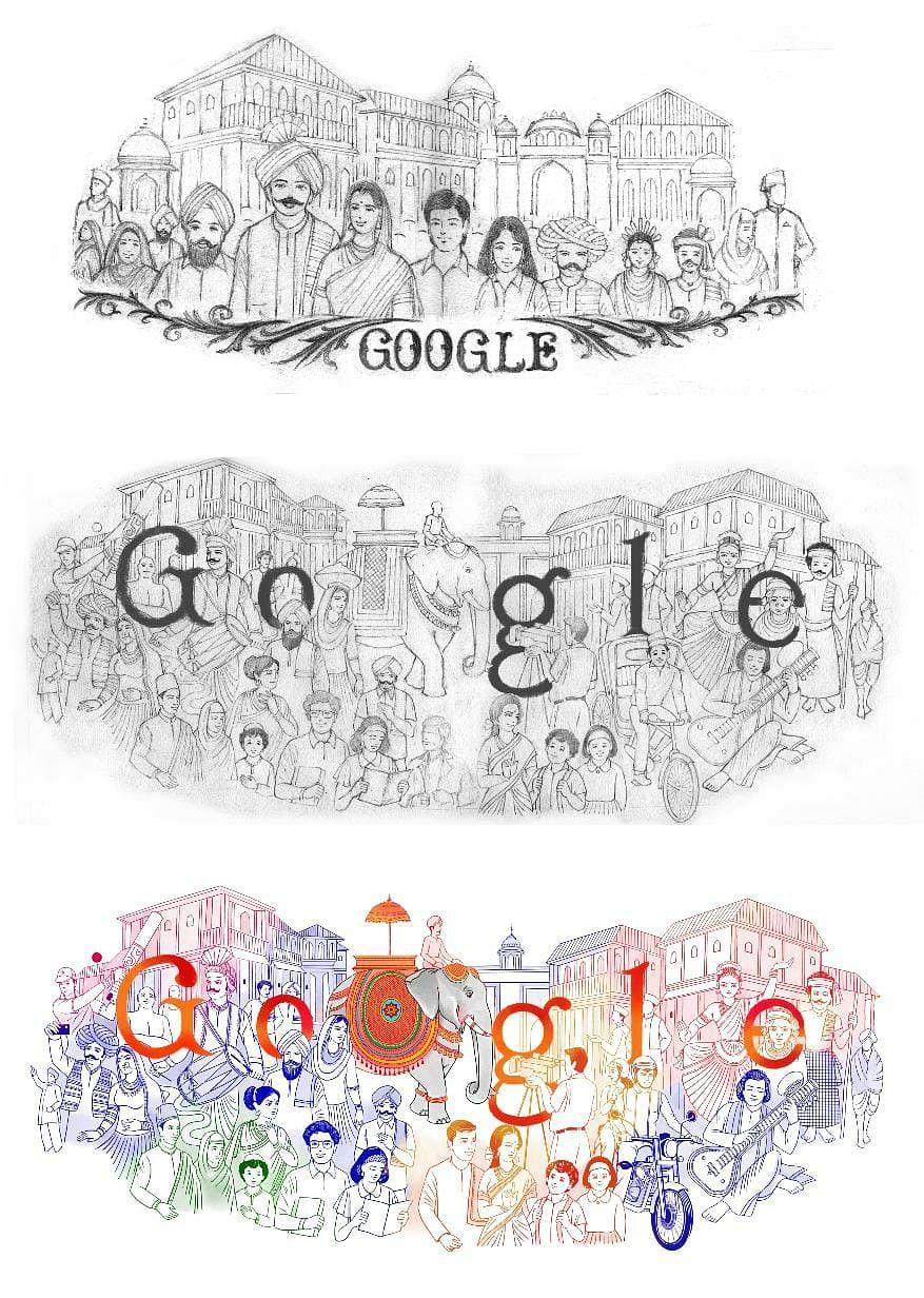 Google celebrates India's colourful heritage with Republic Day doodle