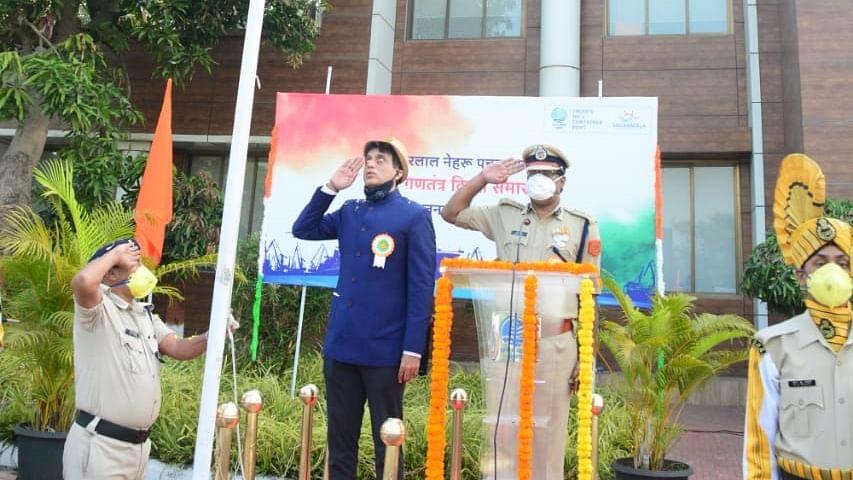 Jawaharlal Nehru Port Trust celebrates 72nd Republic Day