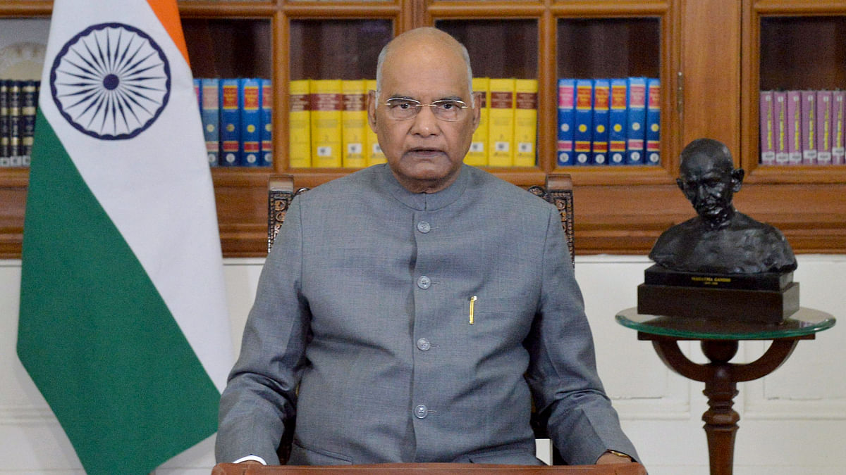 President Ram Nath Kovind extends greetings to Bangladesh on 50th Independence Day