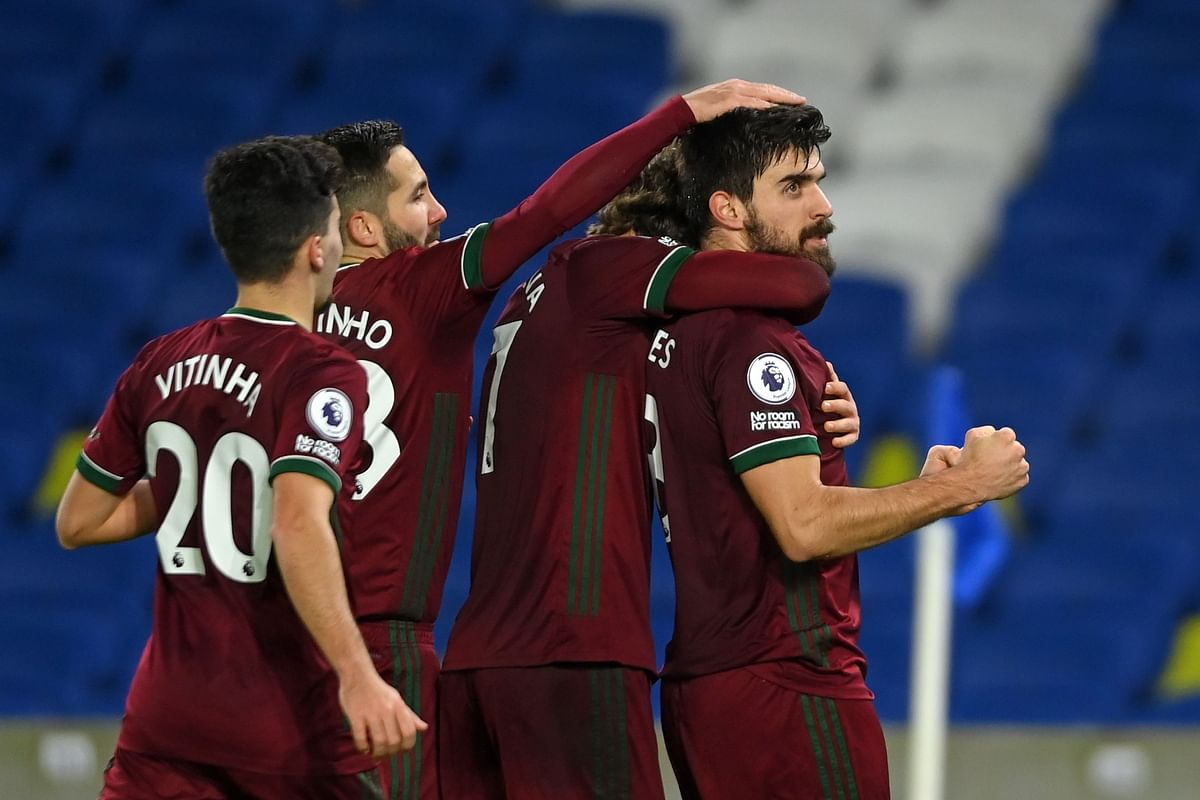 EPL match Report: Brighton snatch point; Overturned a two-goal half-time deficit to hold Wolverhampton