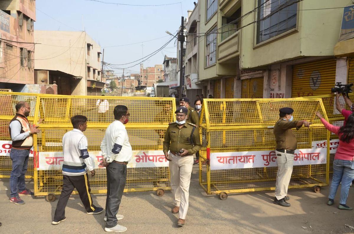 Curfew in Bhopal on Sunday