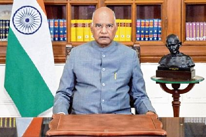 President Kovind's fulsome praise of farmers but no word on their stir