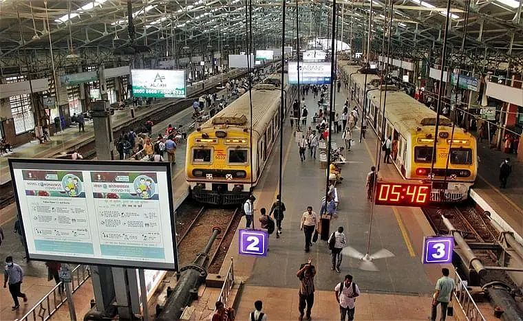 Mumbai: Over 4,600 passengers fined for not wearing masks in trains