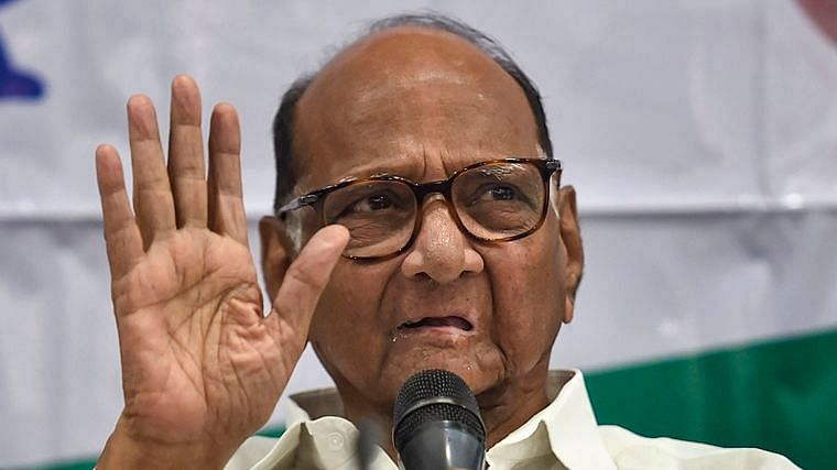 NCP chief Sharad Pawar downplays Sena, Cong war of words over renaming 2 cities