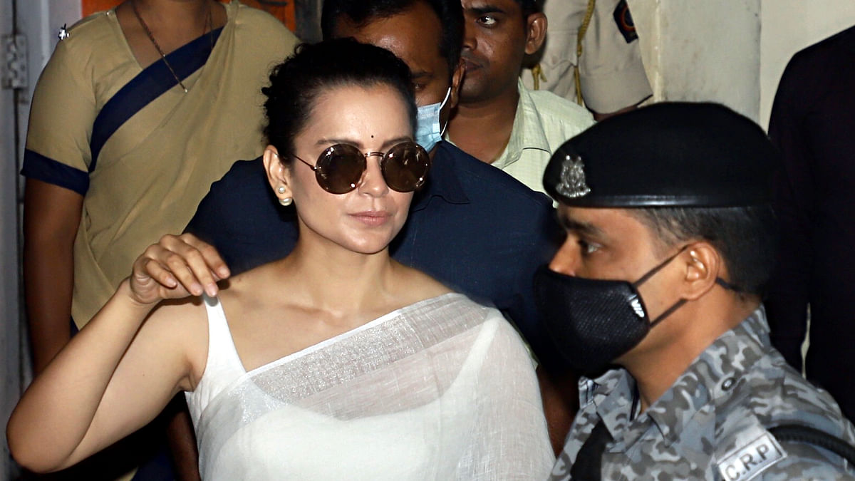 Kangana Ranaut leaves for Bhopal 'after hours of grilling' at Bandra Police station