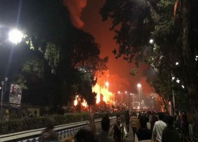 West Bengal: Massive fire breaks out at Baghbazar area in north Kolkata