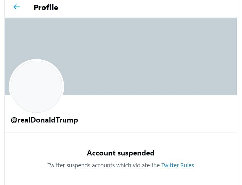 Twitter suspends Donald Trump's account 'permanently' - Here's why