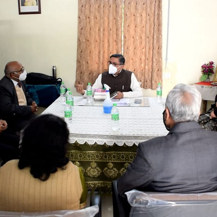 Ujjain: Vikram University team inspects GGPGC for launch of Research Centre in English department