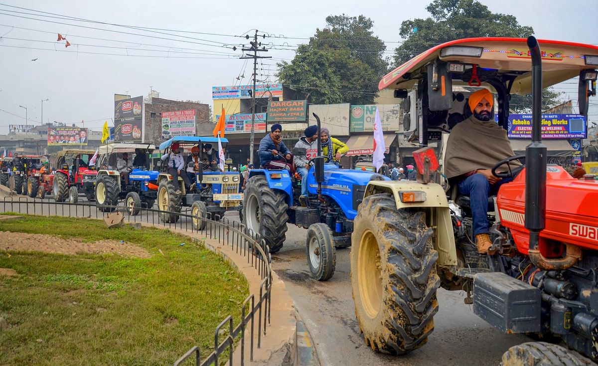 In solidarity with agitating farmers in Delhi, Karnataka farmer groups to take out tractor rally on Republic Day