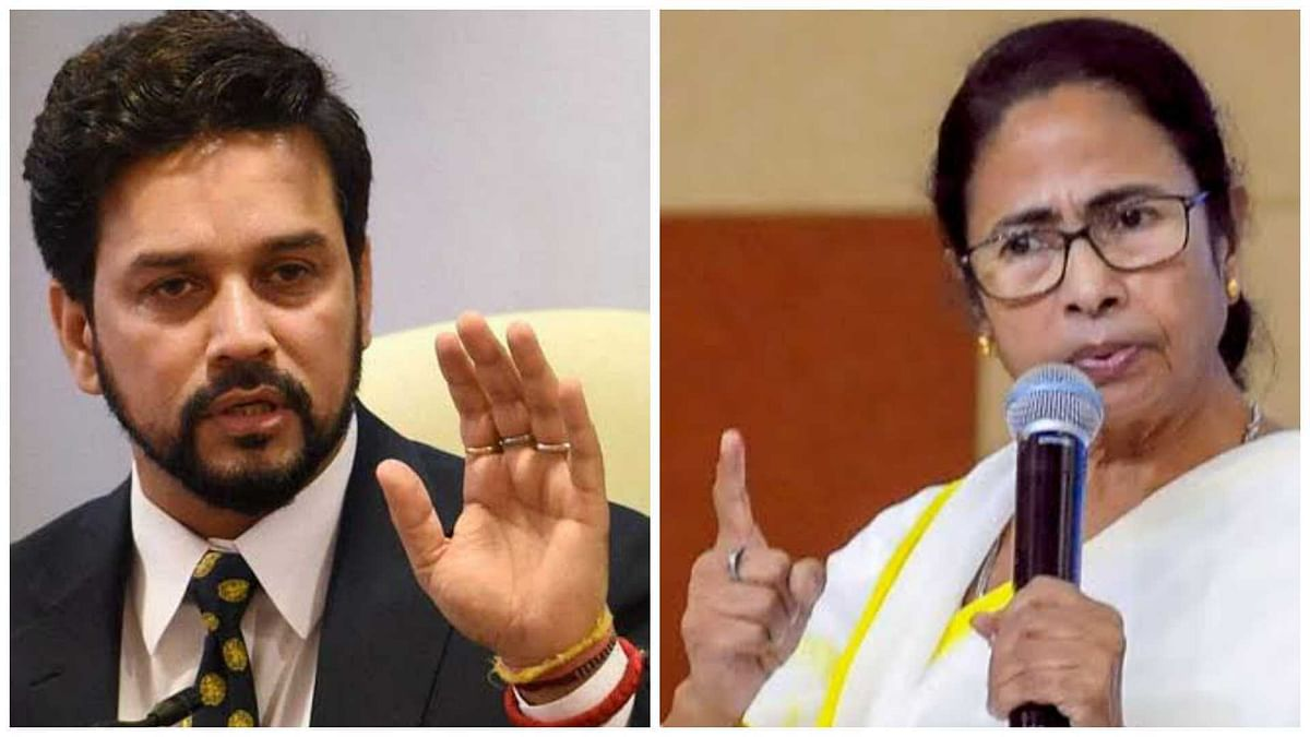Anurag Thakur responds to Mamata's 'outsider' remark, says won't let this thinking develop in West Bengal