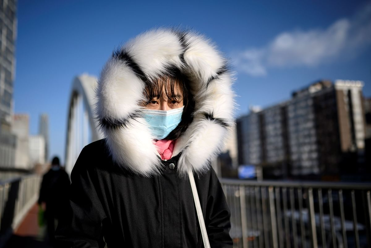 Beijing at -19.6 deg Celsius records coldest morning in over five decades
